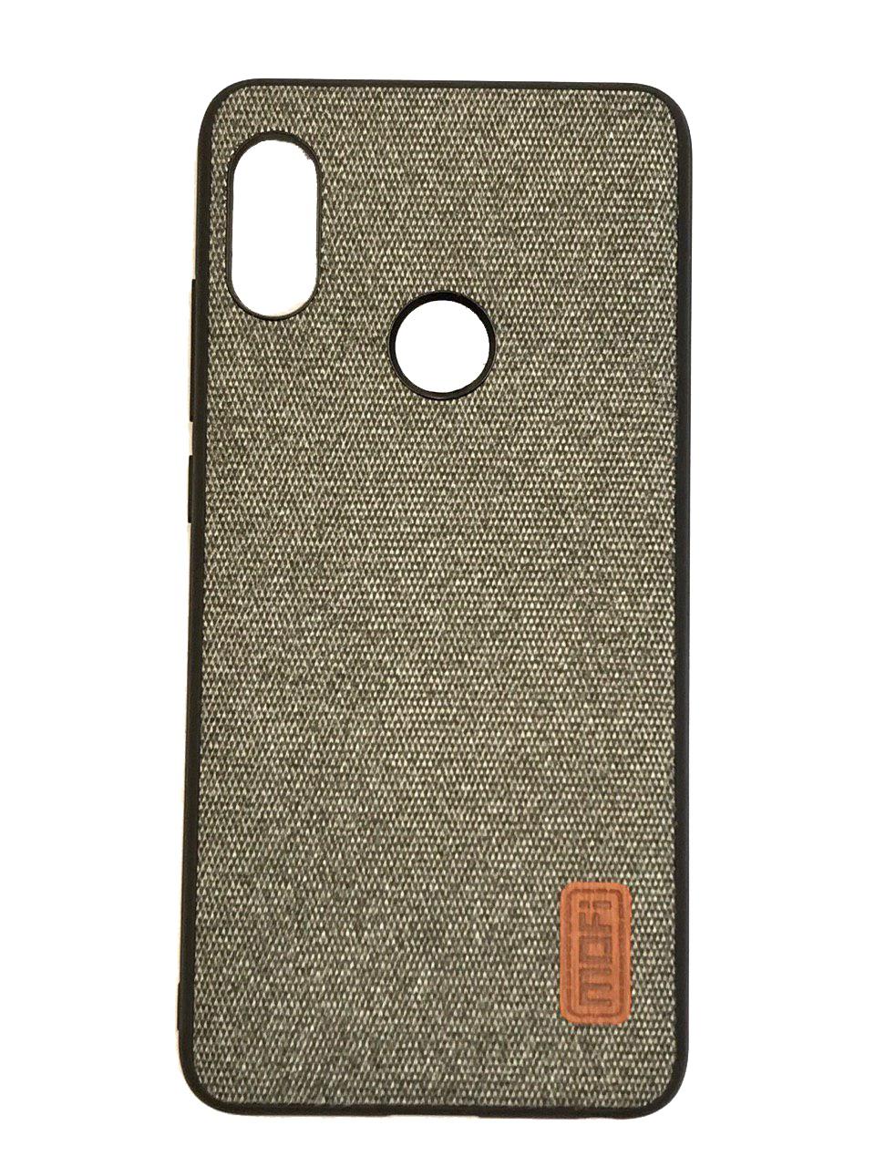 Чехол для сотового телефона Mofi Накладка Fabric Xiaomi Mi 6X /A2 Gray, серый пакеты для стерилизации в свч philips avent scf 297 05