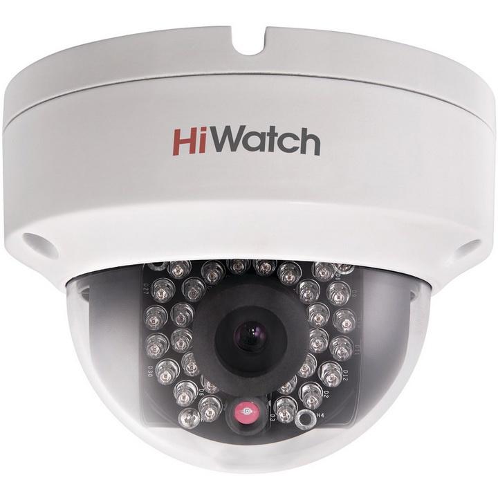 IP камера HIWATCH IP видеокамера DS-I122 (4 mm), белый