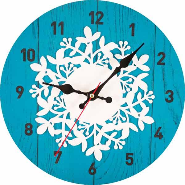 Настенные часы Дубравия Узор 3
