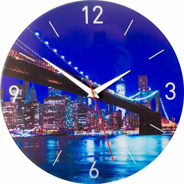 Настенные часы Дубравия МостKD-038-047Стильные настенные часы с красивым внешним оформлением. Часы имеют три стрелки- часовую, минутную, секундную. Часовой механизм сзади закрыт пластиковым корпусом. Предусмотрено отверстие для крепления на стену. Дизайнерское решение, отличное качество исполнения придутся по вкусу каждому.