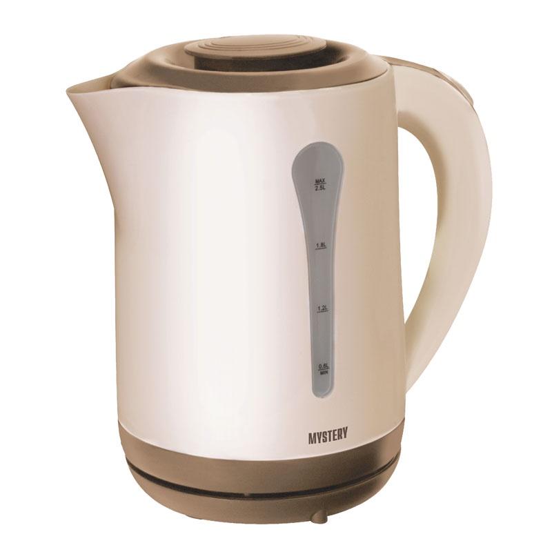 Электрический чайник Mystery MEK-1638 чайник mystery mek 1627 2000 вт 1 8 л пластик стекло чёрный