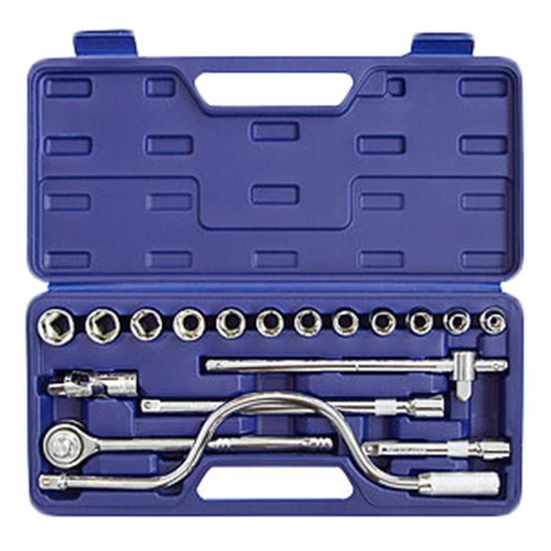 Набор инструментов HELFER HF000003 (18 предметов) helfer набор helfer comfort 56 предметов 1 2 1 4 [hf000013]