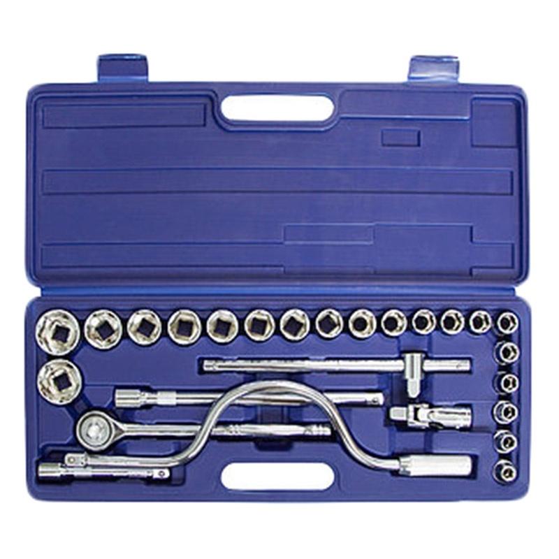 Набор инструментов HELFER HF000004 (26 предметов) головка торцевая berger bg 12sd27 удл 1 2 6 гранная 27мм superlock