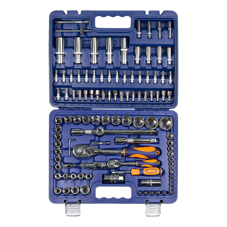 Набор инструментов HELFER HF000012 (108 предметов) helfer набор helfer comfort 56 предметов 1 2 1 4 [hf000013]