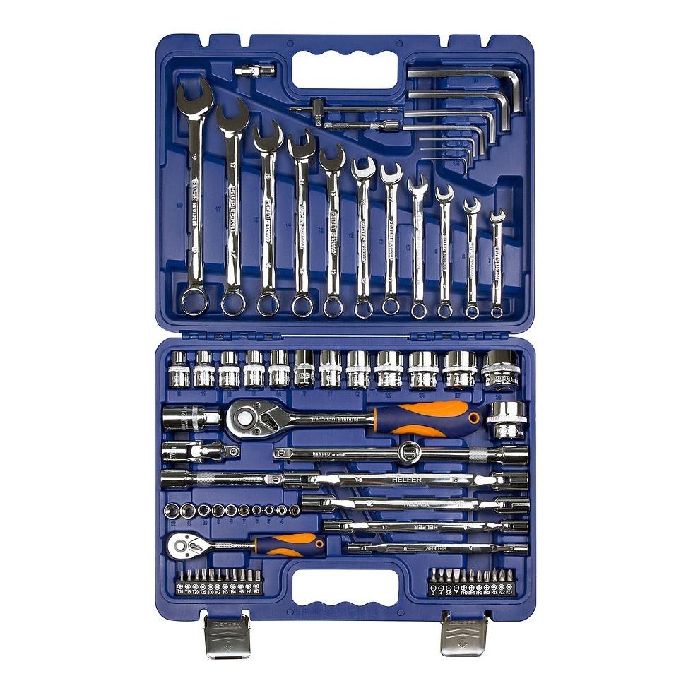 Набор инструментов HELFER HF000015 (77 предметов)
