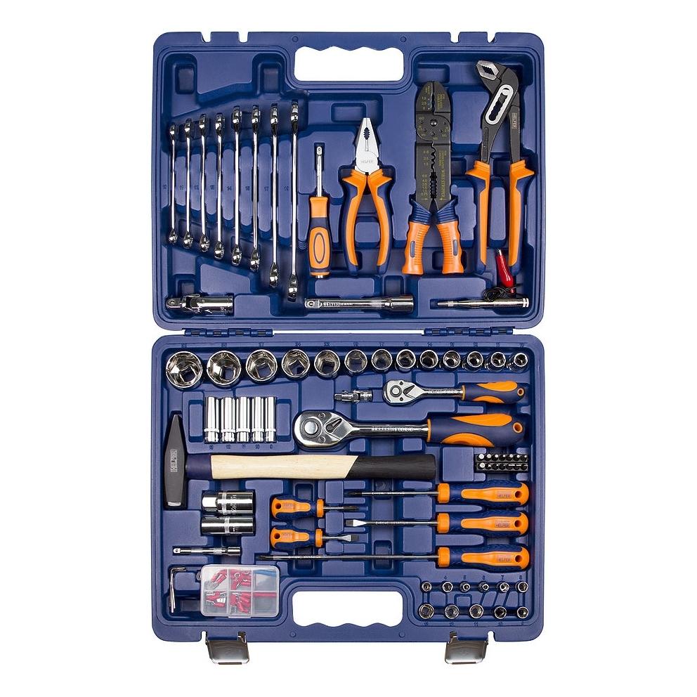 цена на Набор инструментов HELFER HF000016 (99 предметов)