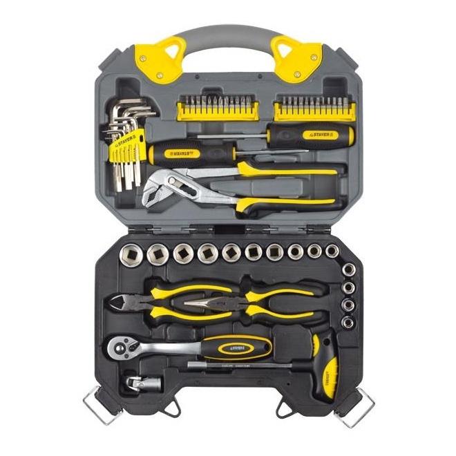 Набор инструментов STAYER 27710-H56 набор инструментов stayer profi 27710 h26