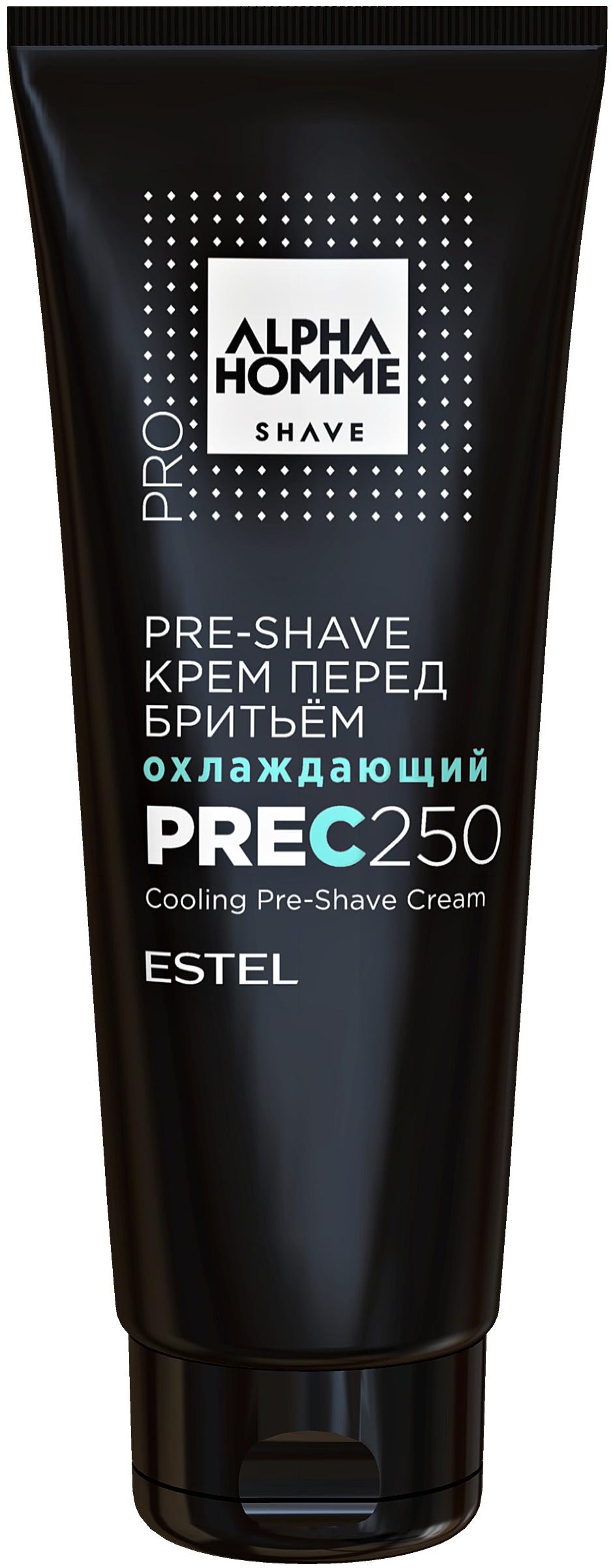 Крем для бритья ESTEL PROFESSIONAL ALPHA HOMME PRO SHAVE перед бритьем pre-shave 250 мл estel alpha homme крем перед бритьем охлаждающий 250 мл