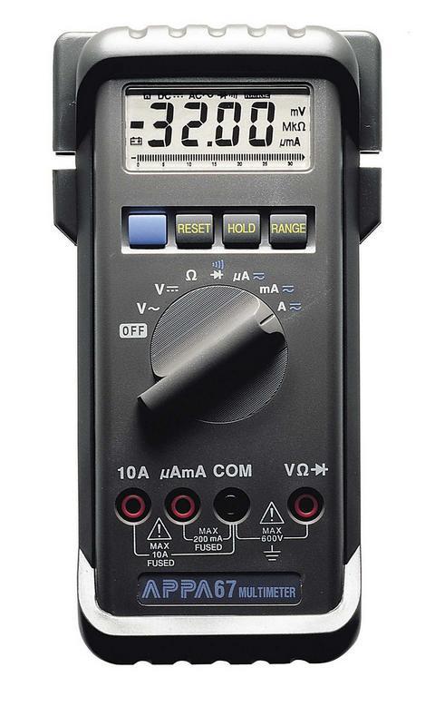 Мультиметр APPA APPA 67 дополнительный модуль netatmo rain черный