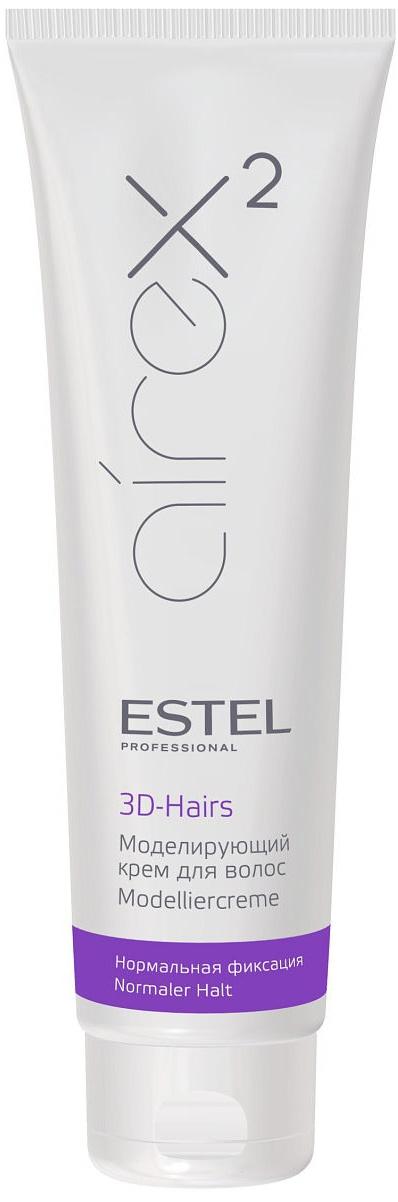 Крем для волос ESTEL PROFESSIONAL AIREX нормальной фиксации, моделирующий 3D-Hairs 150 мл estel airex моделирующий крем для волос 3d hairs 150 мл