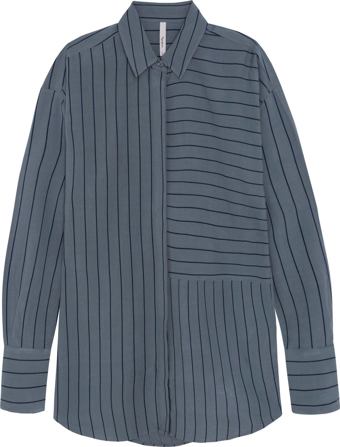 Блузка Pepe Jeans блузка женская pepe jeans цвет синий 097 pl303141 551 размер l 48 50