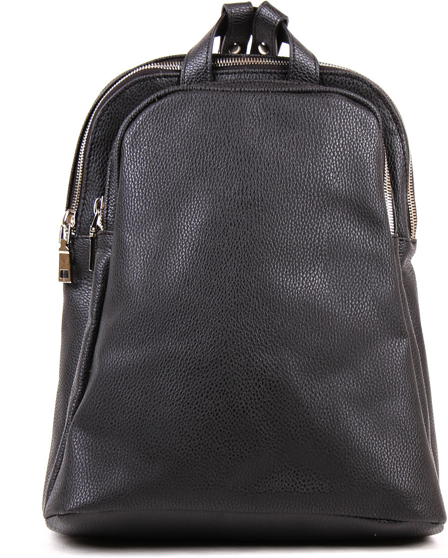 Рюкзак женский Медведково, цвет: черный. 19с0655-к14 рюкзак женский медведково цвет бежевый 16с3880 к14
