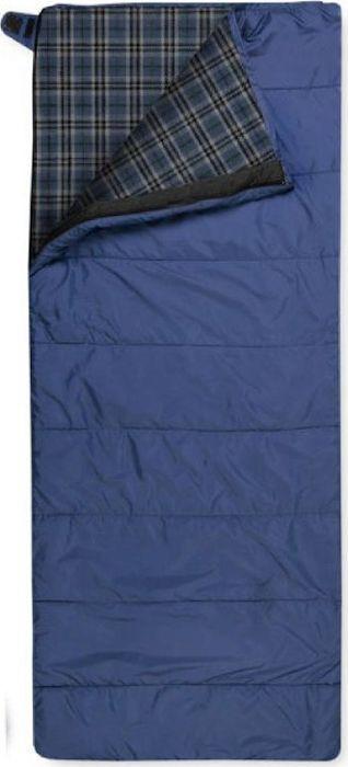 Спальный мешок Trimm Comfort Tramp, правосторонняя молния, синий, 195 см цена