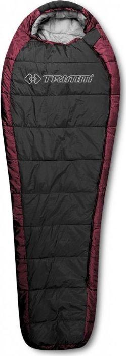 Спальный мешок Trimm Trekking Arktis, правосторонняя молния, красный, 185 см