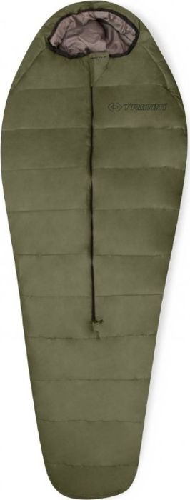 Спальный мешок Trimm Battle, правосторонняя молния, хаки, 185 см мешок спальный onlitop богатырь правосторонняя молния цвет хаки 225 х 105 см