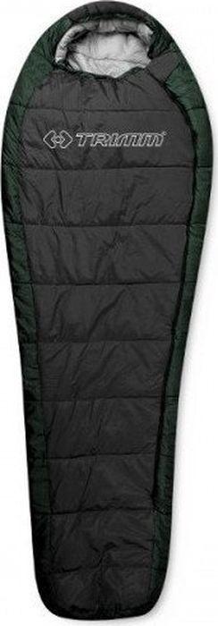 Спальный мешок Trimm Trekking Arktis, правосторонняя молния, зеленый, 185 см