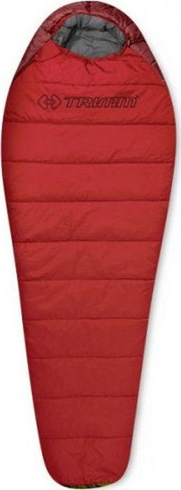 Спальный мешок Trimm Walker, правосторонняя молния, красный, 195 см