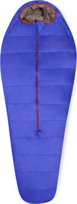 Спальный мешок Trimm Battle, правосторонняя молния, синий, 185 см