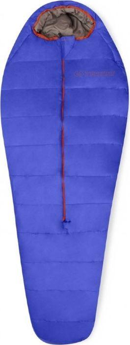 Спальный мешок Trimm Battle, правосторонняя молния, синий, 195 см
