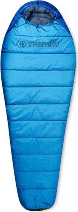 Спальный мешок Trimm Trekking Walker, правосторонняя молния, синий, 185 см