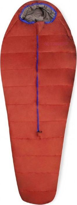 Спальный мешок Trimm Battle, правосторонняя молния, красный, 195 см
