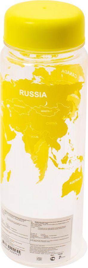 Бутылка для воды Magic Home, 79046, желтый, 500 мл mac small rectangle косметичка small rectangle косметичка