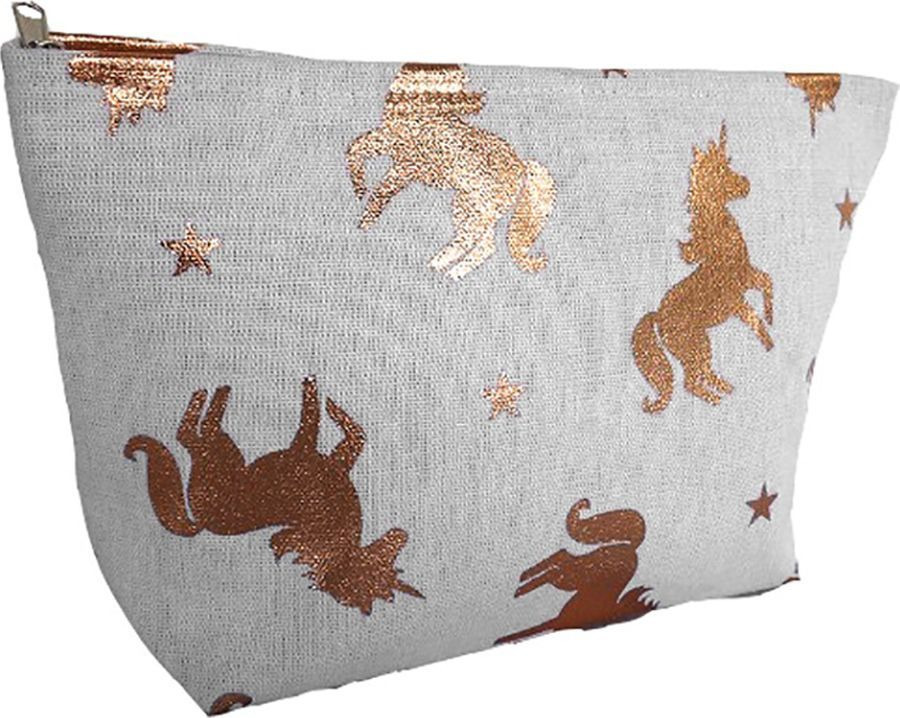 Косметичка Magic Home Золотистые лошадки, 79894, белый molly мыло с картинками лошадки