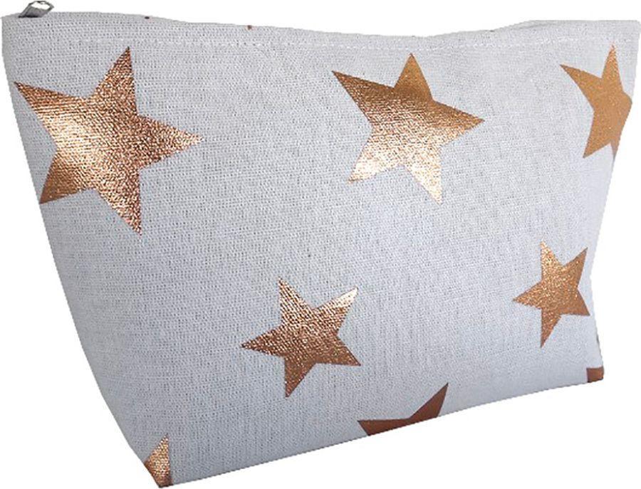 Косметичка Magic Home Золотистые звезды, 79891, белый