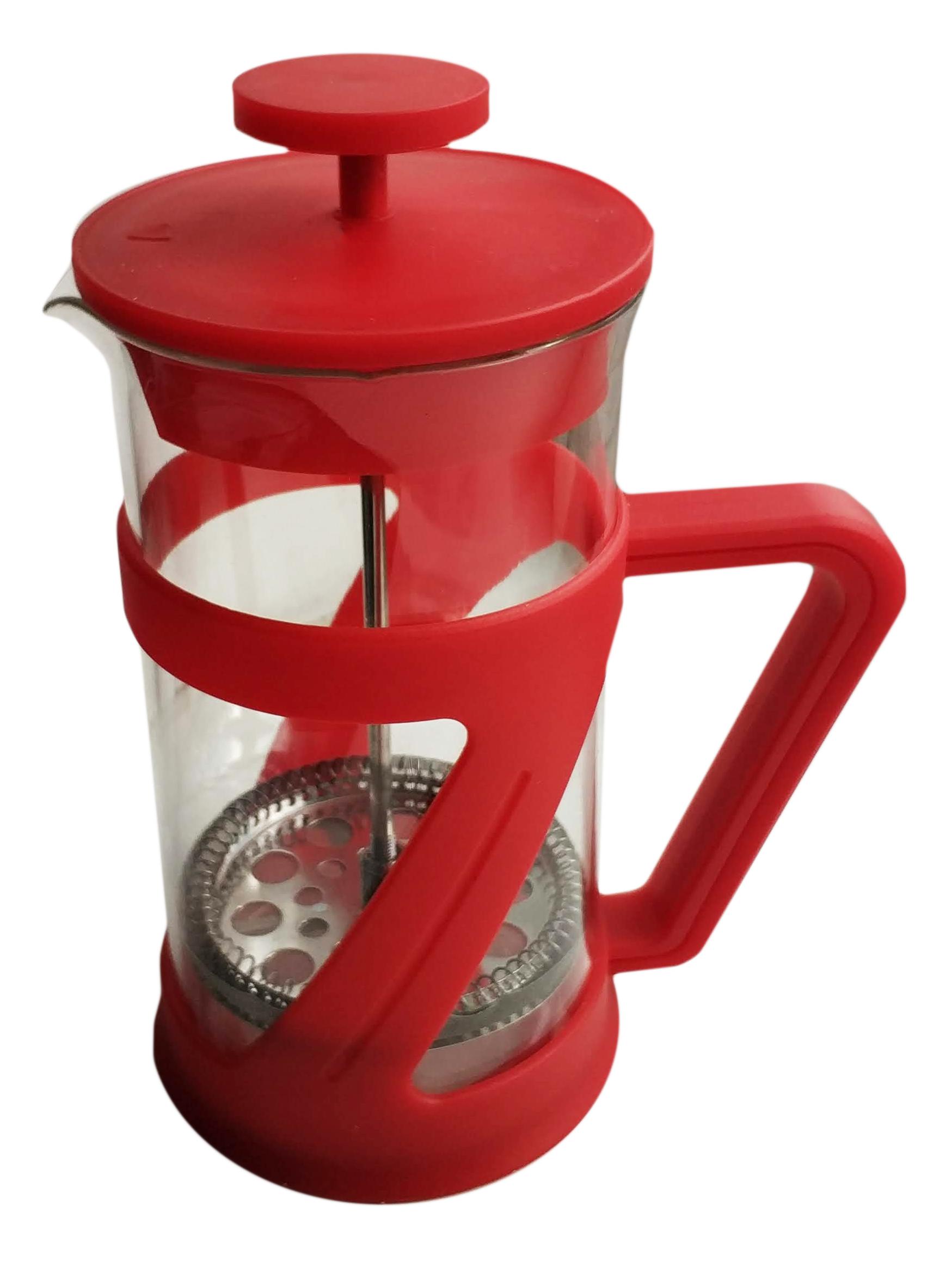 Френч-пресс Kaffee-/Teebereiter 600 мл красный