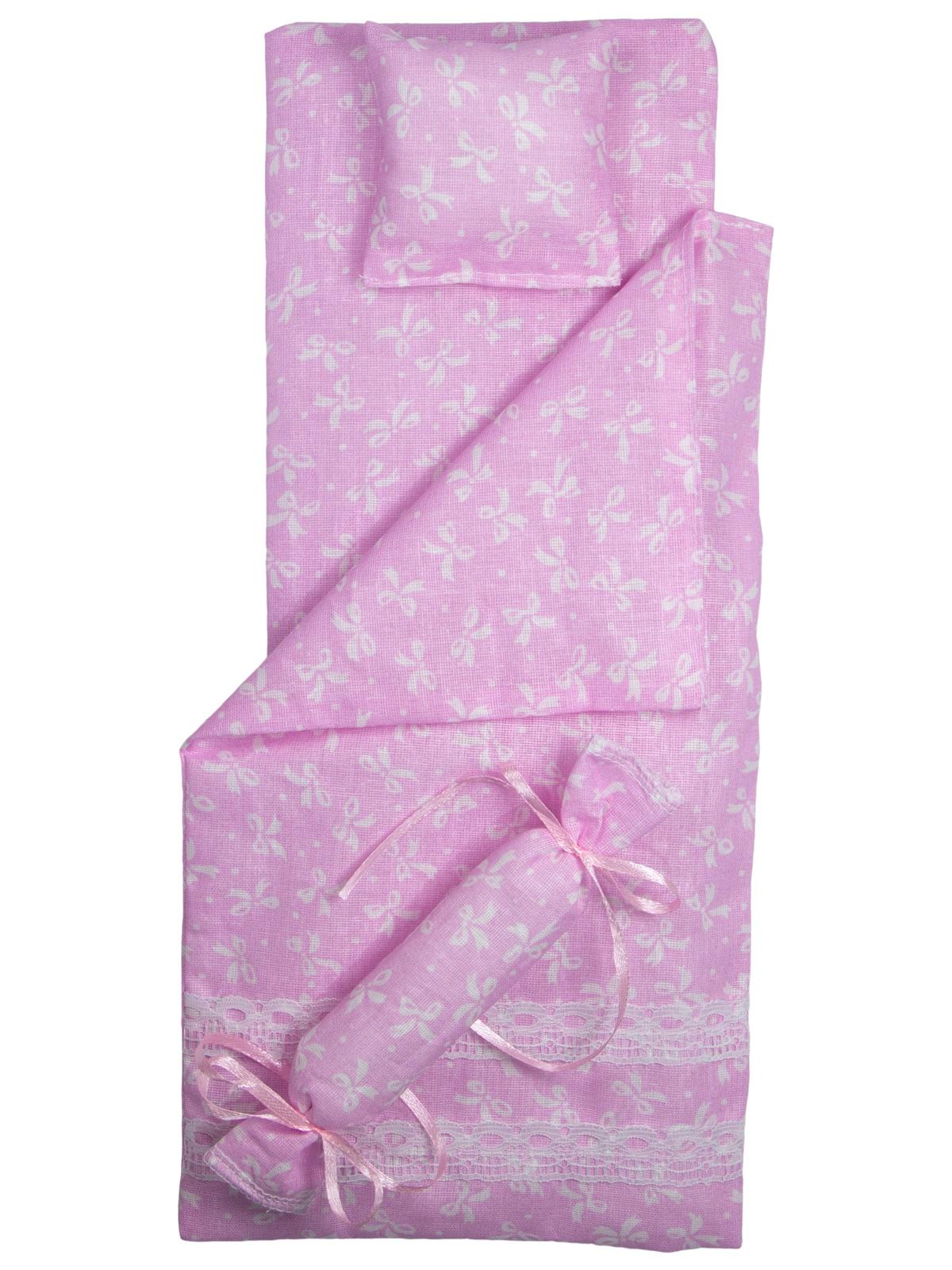 Одежда для кукол Модница Набор для сна для кукол 29 см розовый