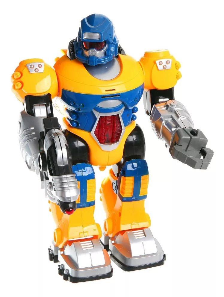 Игрушечный робот S+S TOYS со светом и звуком, 100597585 s s toys игрушечный холодильник