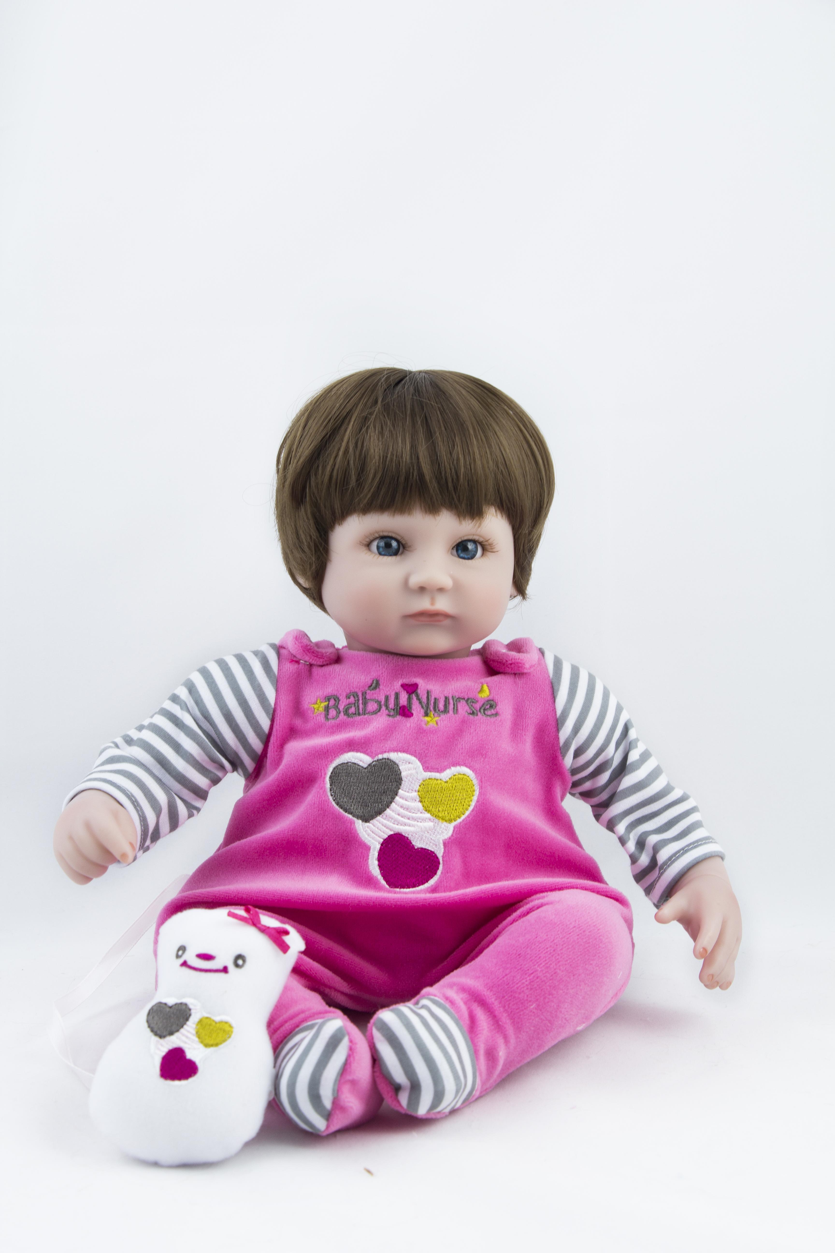 Кукла Реборн Кидс Лада 45 см