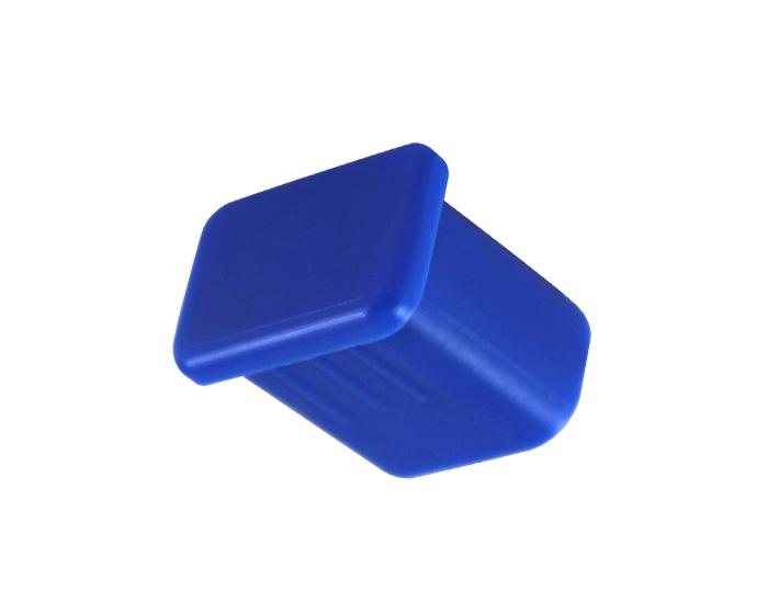 Рукоятка для клюшки Хорс Заглушка (блистер) синий, синий
