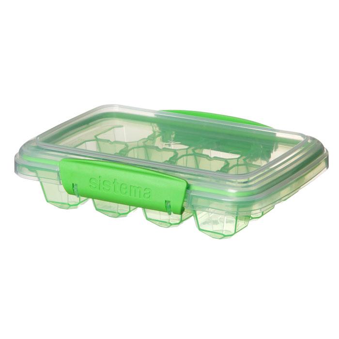 Форма для льда Sistema 61445_Зеленый, зеленый61445_ЗеленыйПревосходное решение для приготовления льда. Нет необходимости в специальном отсеке в морозильной камере.Удобно ставить – не проливается.Плотное закрытие – силиконовый уплотнитель и фирменные защелки Sistema.Легко моется – можно мыть в посудомоечной машине.Безопасный – не содержит бисфенол А и фталаты.Разработано и произведено в Новой Зеландии.