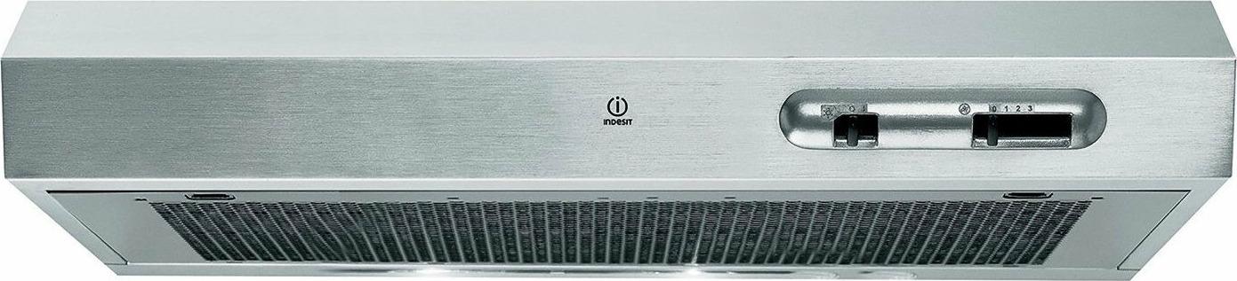 Вытяжка козырьковая Indesit ISLK 66 LS X, нержавеющая сталь