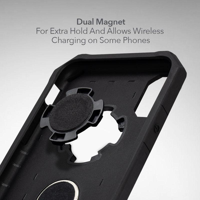 Держатель для телефона Rokform Magnetic RokLock Plug, черный horusdy flexible magnetic claw pick up tool plastic handle magnet long reach spring grip 600mm