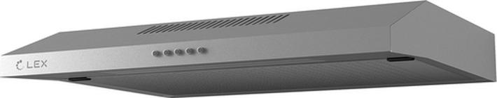 Вытяжка козырьковая Lex S 600,  нержавеющая сталь LEX