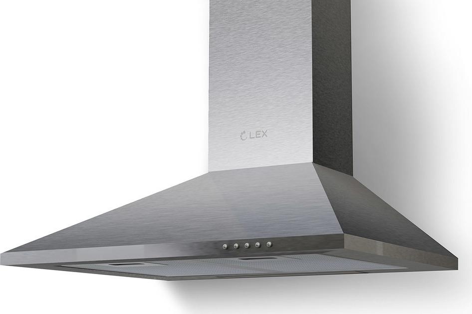 Вытяжка каминная Lex Basic 500, нержавеющая сталь