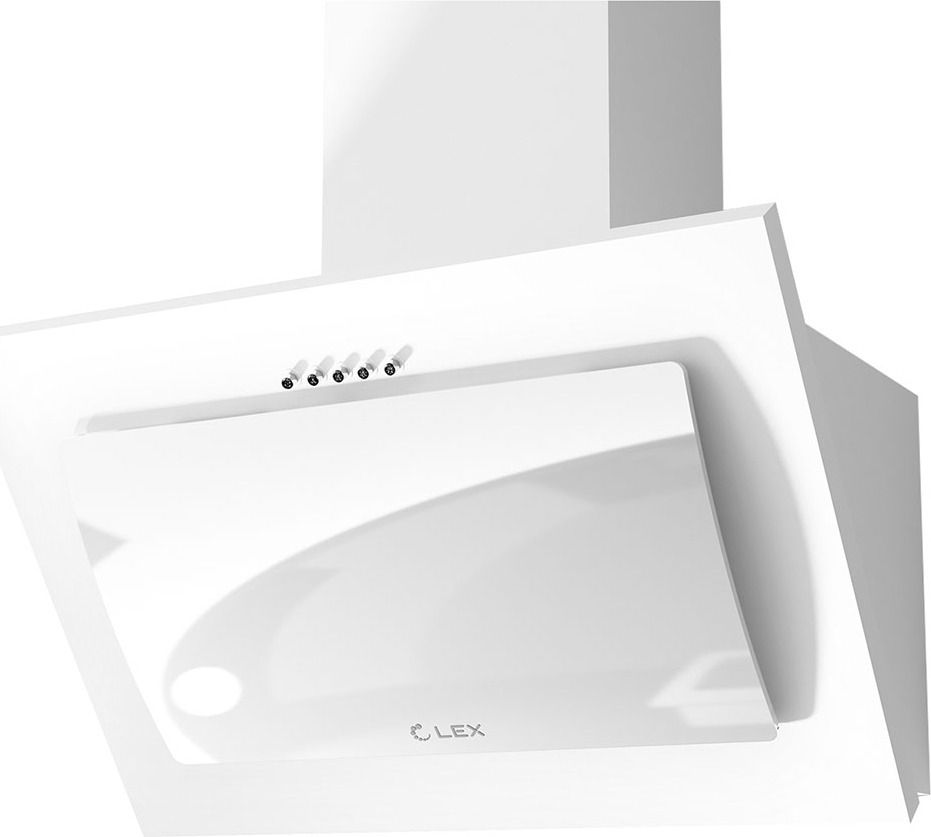 Вытяжка каминная Lex Mika C 600, белый LEX