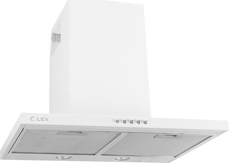 Вытяжка каминная Lex T 600, белый