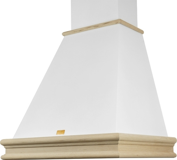Вытяжка каминная Lex VERONA 600, белый/бук неокрашенный
