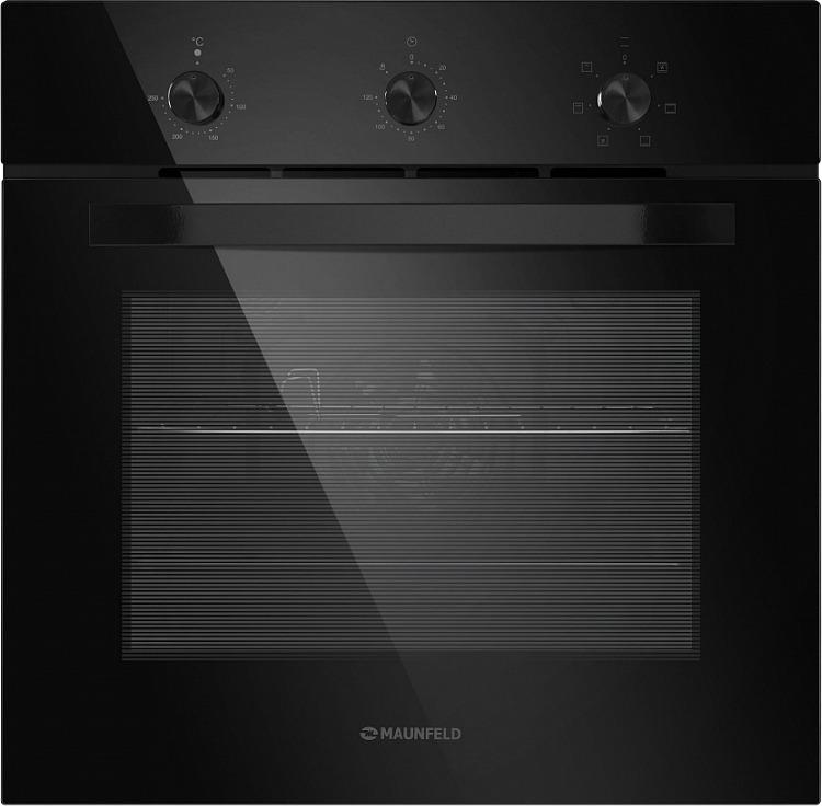 лучшая цена Духовой шкаф Электрический Maunfeld EOEC.586B2 черный
