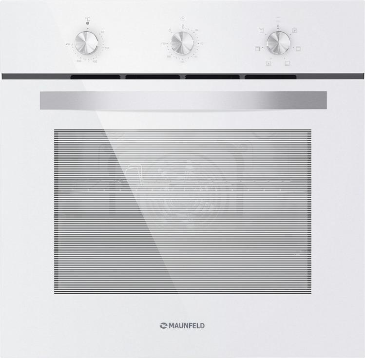 лучшая цена Духовой шкаф Электрический Maunfeld EOEC.586W белый