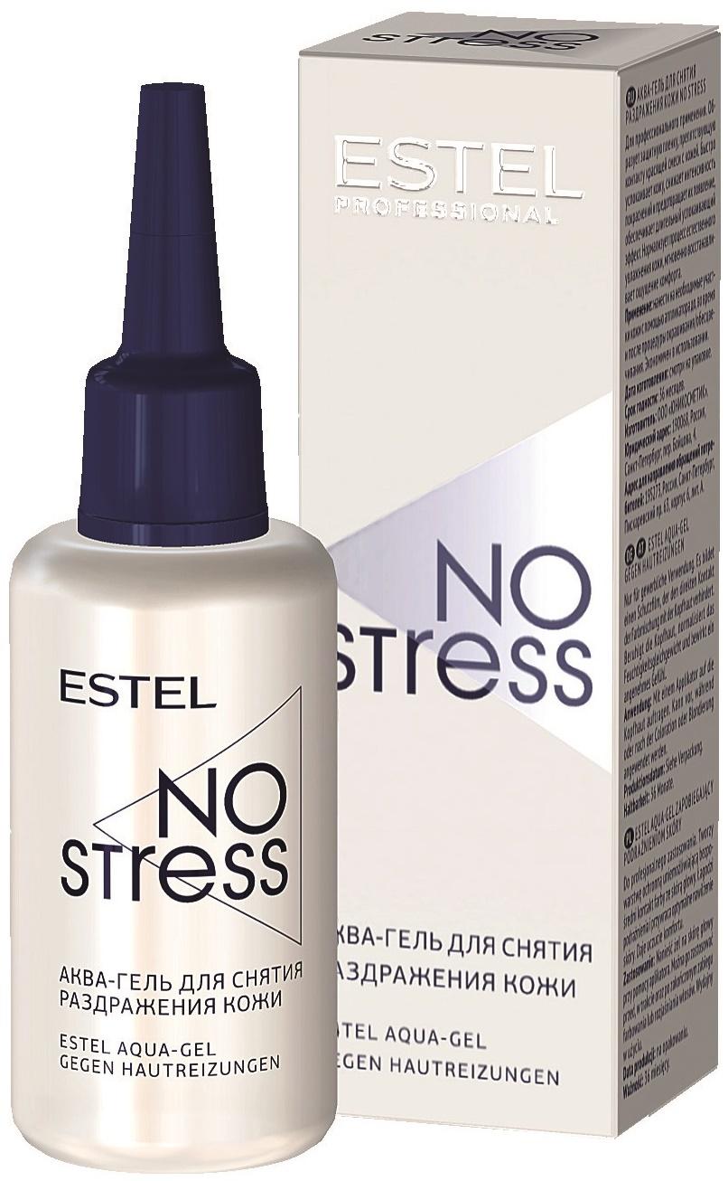 Гель для ухода за кожей  ESTEL PROFESSIONAL аква-гель для снятия раздражения кожи no stress 30 мл Estel Professional