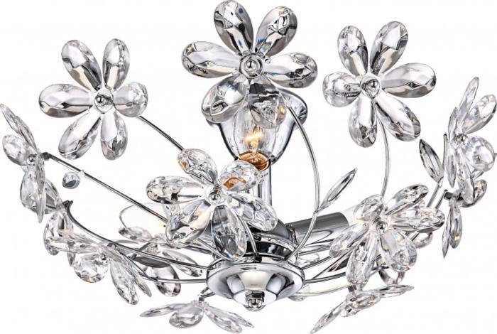 Потолочный светильник Globo New 5132, серый металлик недорого