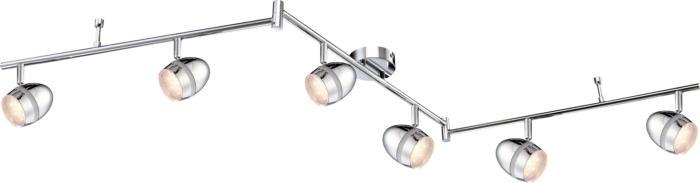 Настенно-потолочный светильник Globo New 56206-6, LED, 3 Вт все цены