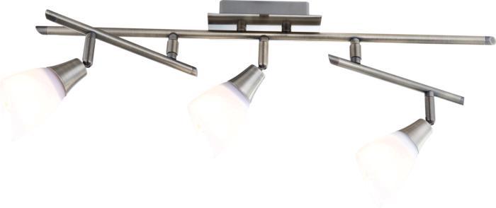 Настенно-потолочный светильник Globo New 5451-3, бронза светильник спот globo virunga 541012 3