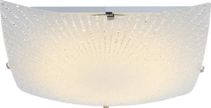 Потолочный светильник Globo New 40449, серый металлик40449Потолочный светильник Globo 40449 серии Vanilla в современном стиле подчеркнет стиль помещения. Размеры (ДхШхВ) 80х300х300 мм.