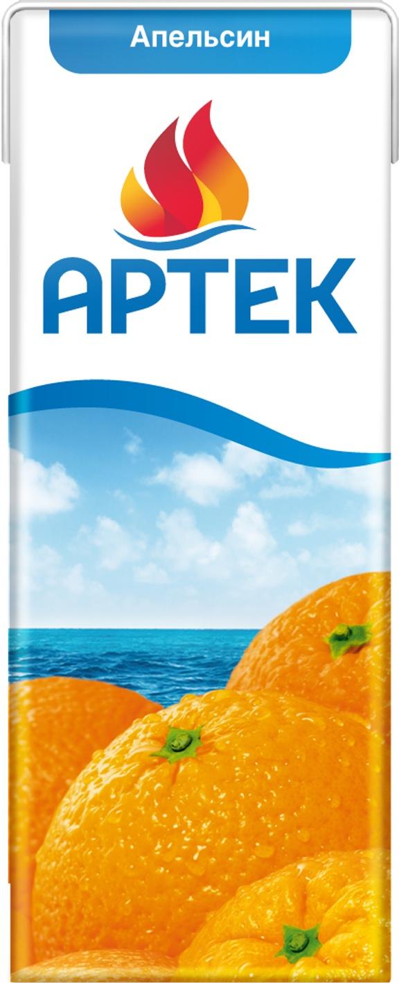 Нектар Артек апельсиновый 200 мл