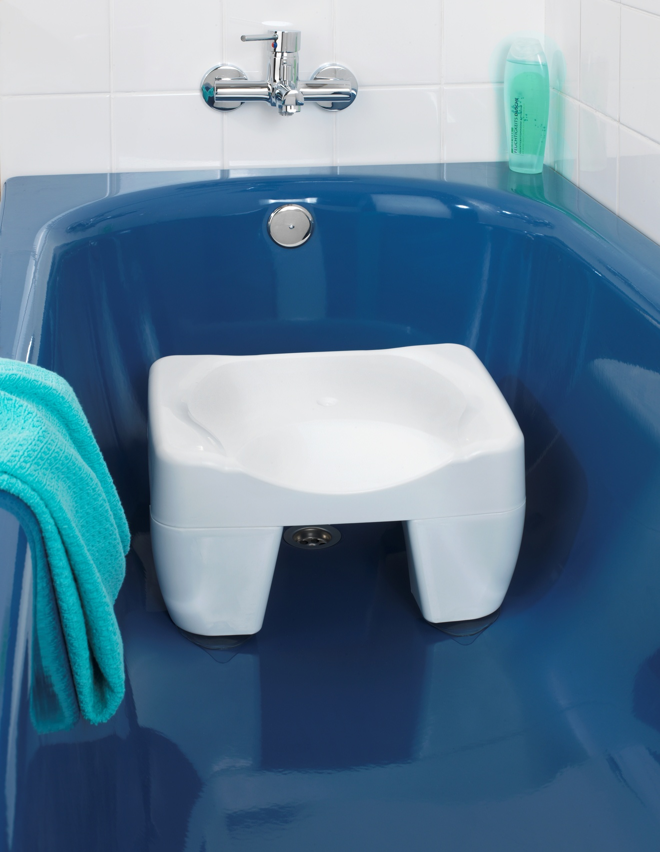 Стульчик для купания ХИТ - декор 02688